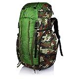 Suntop Trek 65L (with Internal Frame) Travel Bag Backpacking Backpack for Outdoor Hiking