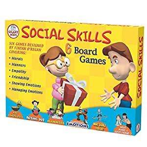 Didax Educational Resources Social Skills Board Games (6 Pack)