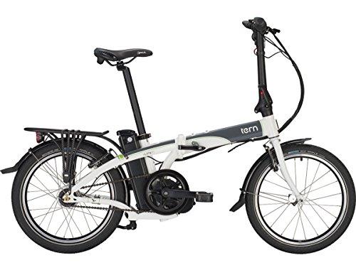 tern e-Link D7i - Bicicletas eléctricas urbanas - 20' gris/blanco 2016