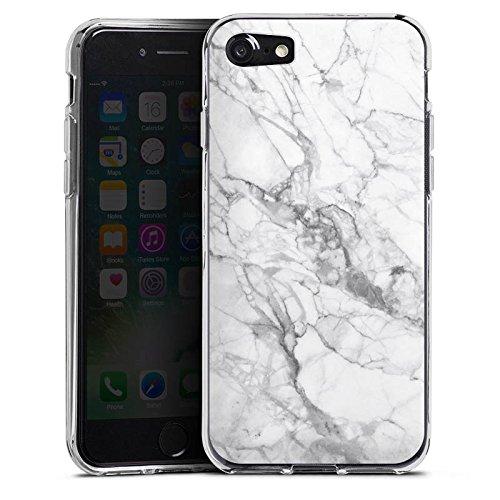 Apple iPhone 6 Hülle Case Handyhülle Marmor Marble Marmoriert Silikon Case transparent