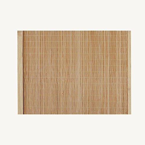 AIURLIFE Tejido de bambú té utensilios Mat rectangulares manteles individuales de bambú...