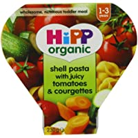 Hipp Organic Shell Pasta with Juicy Tomatoes and Courgettes Tray Meal from 12 Months 230 g (Pack of 5) preiswert
