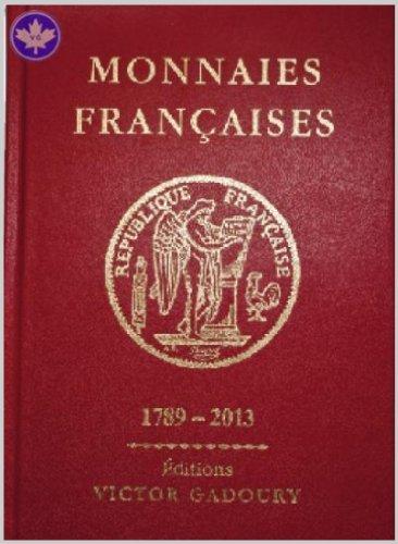 MONNAIES FRANÇAISES 1789-2013