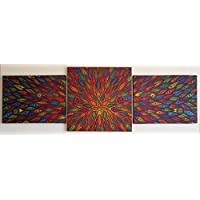 Pittura moderna : Diffusione (40 x 122 cm)