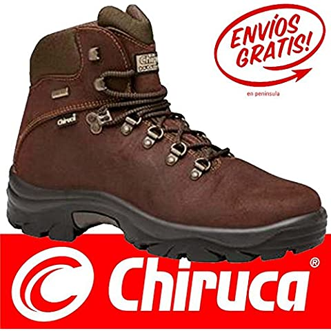 Botas bota Chiruca Pointer 02 color marrón piel - GORETEX Talla 44