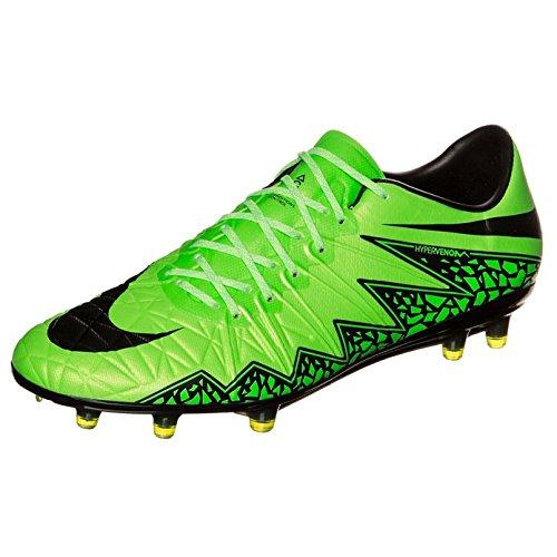 Nike Herren Hypervenom Phinish Fg Fußballschuhe, UK APPL GRN/MTLLC SLVR-YLLW STRK