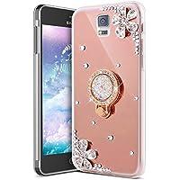 Galaxy Note 4 Hülle,Galaxy Note 4 Schutzhülle,KunyFond Glitzer Silikon Spiegel Hülle Bling Glänzend Glitter Diamant... preisvergleich bei billige-tabletten.eu
