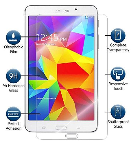 Preisvergleich Produktbild Kamal Star® Tempered Glass Screen Protector für Samsung Galaxy Schutzglas Guard Tab 3 8.0 T310