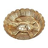 Shiva Rudraksha Ratna Ashtadhatu Wish Fulfilling Tortoise With Plate 185 gm Approx