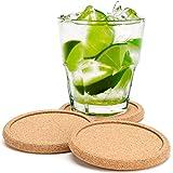 Dulce Cocina Kork Untersetzer Premium Set 8–, Speichern Ihre Möbel Oberfläche vor Flecken und Feuchtigkeit, robuster Großer Tiefe Tablett, dass fängt Kondenswasser & Liquid von Kalten Getränke