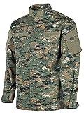 US Army Combat Feldjacke Digital Woodland Größe M