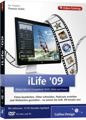 iLife '09 - Das Video-Training auf DVD