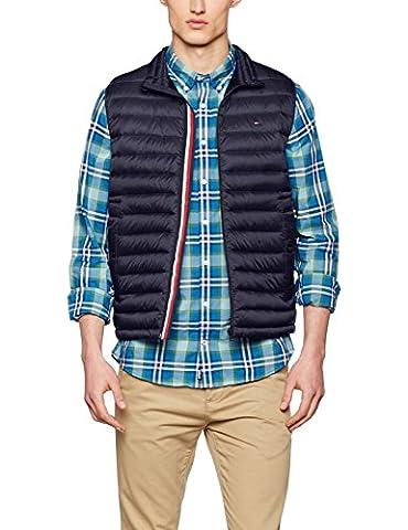 Tommy Hilfiger Herren Weste LW Packable Down Vest, Blau (Midnight 403), Small