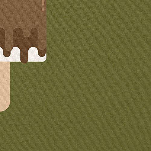 TEXLAB - Chewie Ice Pop - Herren T-Shirt Oliv