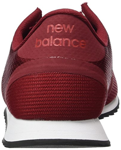 New Balance U420DV1, Baskets Basses Homme Rouge (Red)