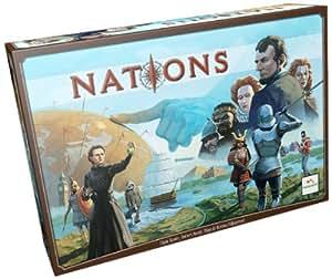 Asmodee 827033 - Lautapelit - Nations, Brettspiel