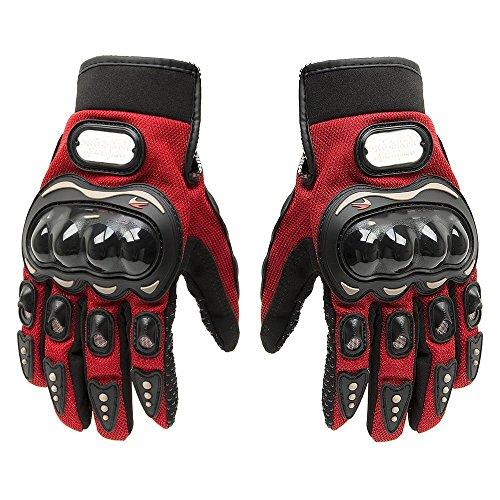 BRAUTO MotorradHandschuhe, Sommer Motorrad Handschuhe, Rot, Größe XL (Von Handschuhe Yamaha Motorrad)