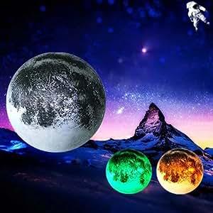 Luna In Camera Mia Luna Guarigione, La Luce Di Notte, Lampada Da Parete Camera Da Letto Con Telecomando