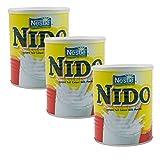 3 x NIDO -Vollmilchpulver -Original Nestle - 3 x 400g (1200g)