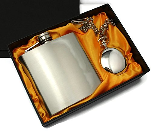 Silk Lined Gift Boxed Pocket Watch - 6oz Hip