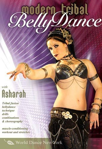 Modern Tribal Belly Dance, with Asharah: Beginner tribal fusion bellydance how-to, Belly dancing instruction (All Regions) (NTSC) [DVD] [2008] [UK Import] -