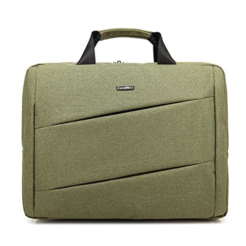 Bronze Times(TM) Laptoptasche / Tablet mit Bildschirmdiagonale 15,6 Zoll / 39,6 cm Grün