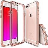 "Funda iPhone 6S Plus, Ringke FUSION [GRATIS Protector de pantalla][ROSE GOLD CRYSTAL] Cristal Claro Choque Absorción TPU Parachoques Protección gota prima Claro Trasera Dura Funda para Apple iPhone 6S Plus / 6 Plus 5.5"""