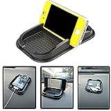 Schwarzes Auto Armaturenbrett klebrige Auflage Matte Anti nicht Beleg Gadget Handyhalter GPS