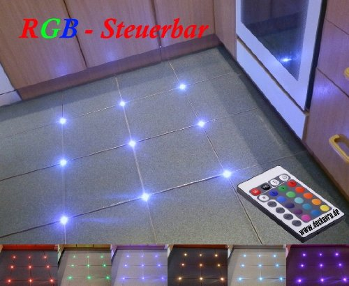 Piastrelle rgb led controllo bar fughe mm luce