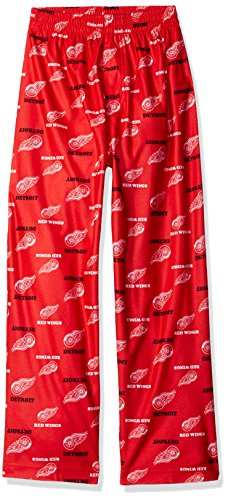 Detroit Red Wings Youth Kinder NHL Logo Pajama Pants