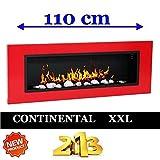 Il  biocamino di Ethanol24 darà alla vostra casa un'atmosfera calda, elegante e molto accogliente. Il modello  CONTINENTAL XXL   è ideale per ambienti piccoli da 15 a 40  mq ,monta 6 bruciatori  in acciaio. I 6 Bruciatori in acciaio inox sono...