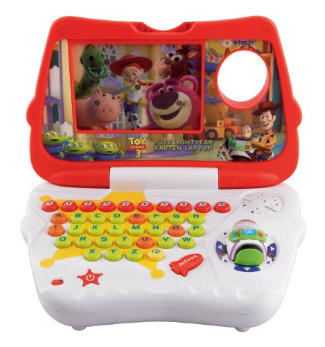 Vtech 80-109204 - Buzz Lightyear Karten-Laptop