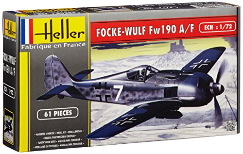 Heller 80235 - Modellbausatz Focke-Wulf FW 190 A8/F3 (chasseur 2eme)