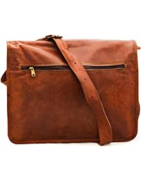 NeoFeral 100% Original Brown Leather Messenger Bag-quality Leather|Laptop Bag|Macbook|Pro Macbook Air|Slim Bag...