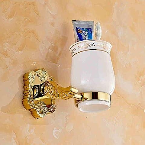 QUEEN'S Il rame gold style spazzolino da denti bicchiere tumbler