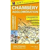 Plan de Chambéry et de son agglomération (échelle : 1/12 000)