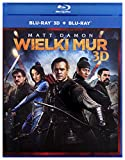 The Great Wall [Blu-Ray]+[Blu-Ray 3D] [Region Free] (English audio. English subtitles)