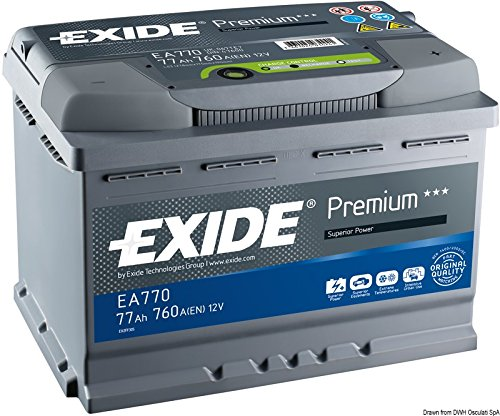 Premium Carbon Boost EA770 77Ah Autobatterie (Neuestes Modell 2014/15, Preis inkl. EUR 7,50 Pfand)