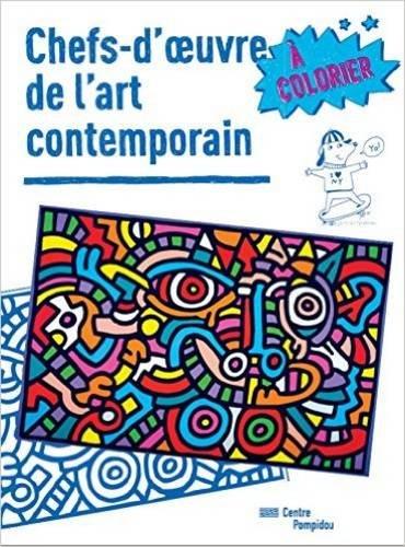 Download Chefs-d'oeuvre de l'art contemporain à colorier