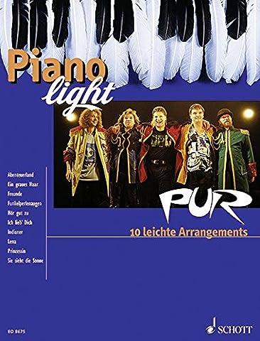 PUR: 10 leichte Arrangements. Klavier. (Piano light)