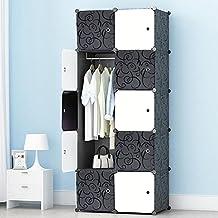 PREMAG Portable Garderobe Für Hängende Kleidung, Kombischrank, Modularer  Schrank Für Platzsparende, Ideale Aufbewahrung