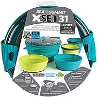 Sea to Summit - Xset 31 5Pc Xpot 2.8L 2 Xbowls. 2 Xmugs, Color Multicolour