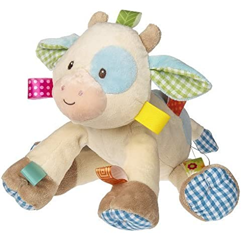 Taggies Casey Plush Toy, Cow by Taggies