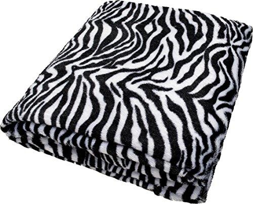 daydream-hochwertige-Kuscheldecke-im-Zebra-Design-aus-Kunstfell-150-x-200-cm-K-9001