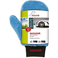 ALCLEAR 950013b Microfibre car rim cleaner glove for car care, motorcycle, bicycle, 26x12 cm, without brush for aluminium rims, steel rims, hubcaps - ukpricecomparsion.eu