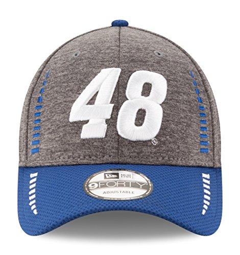 Jimmie Johnson NASCAR New Era 9Forty 'Speed' Performance Adjustable Graphite Hat Hut