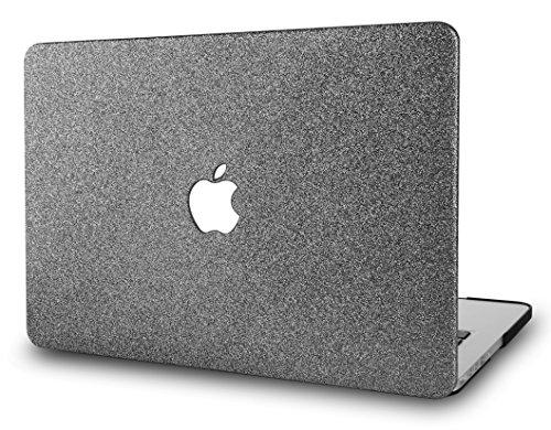 KECC Hülle für MacBook Pro 15 (2019/2018/2017/2016, Touch Bar) Schutzhülle Case Cover MacBook Pro 15.4 {A1990/A1707} (Prickelnd Grau)
