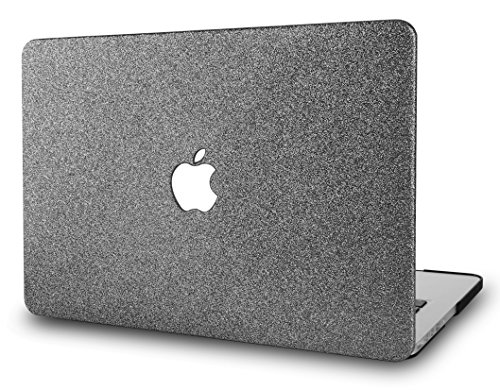 KECC Hülle für MacBook Pro 15 (2019/2018/2017/2016, Touch Bar) Schutzhülle Case Cover MacBook Pro 15.4 {A1990/A1707} (Prickelnd Grau) (Macbook Cover Apple Pro Für 15)