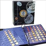SAFE 7817 Classeur monnaie euros de tout les pais - Album de pièces de monnaie en euro - classeur pieces de monnaie pour votre collection de pièces de monnaie 1 Cent à 2 Euro...