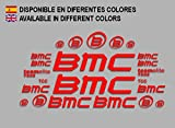 PEGATINAS BMC F167 VINILO ADESIVI DECAL AUFKLEBER MTB STICKERS BIKE ROJO